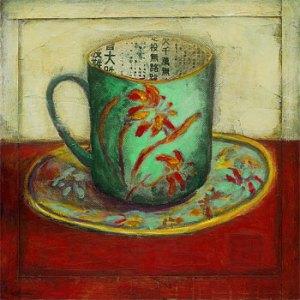 A4147_CAT~Blue-Tea-Cup-Posters