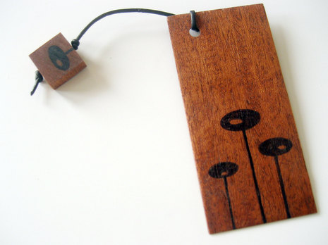 woodenbookmark
